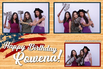 Rowena's Birthday Celebration