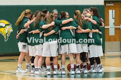 Girls Basketball: GW-Danville vs. Loudoun Valley 2.23.16 (by Chas Sumser)