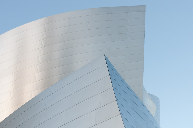 Walt Disney Concert Hall in Los Angeles, California