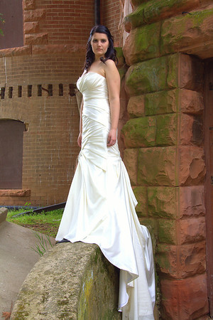 Preston Castle Model Shoot with dress from The Cloths Mine and Model Rebekah London