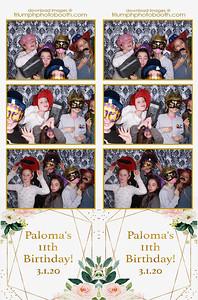3/1/20 - Paloma's 11th Birthday