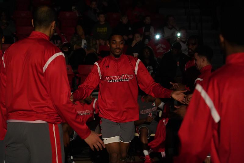 Men's Basketball vs. Hampton