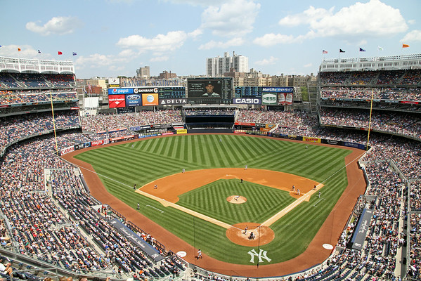 BASEBALL PARKS - YANKEE STADIUM - NEW YORK YANKEES