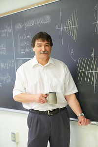 2016 UWL Bruce Riley Retired Mark Sandheinrich Dean Science and Health