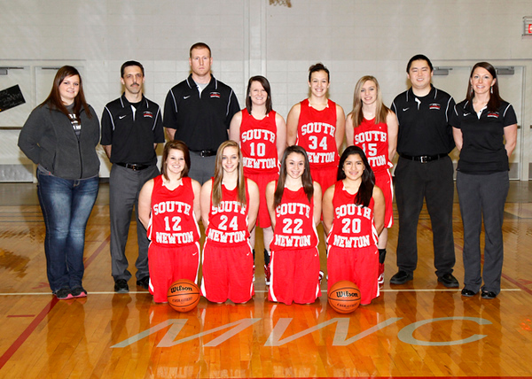 SNHS Girls Basketball Team 2012