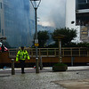 Gibraltar - Five Star Floating Hotel damaged by fire at berths