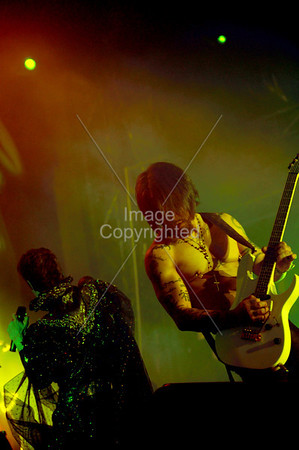 Dave Navarro and Perry Farrell of Janes Addiction . Voodoo Music Festival 2009.