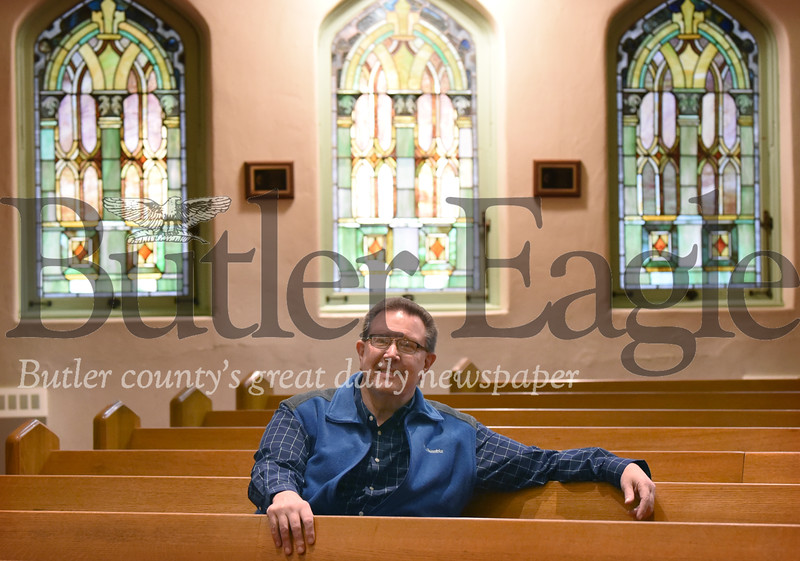 71404 Rev. David Jens is new pastor at First United Methodist Church in Butler