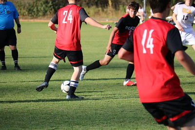 US Boys Soccer JV vs Upper Columbia Academy 9-26-18