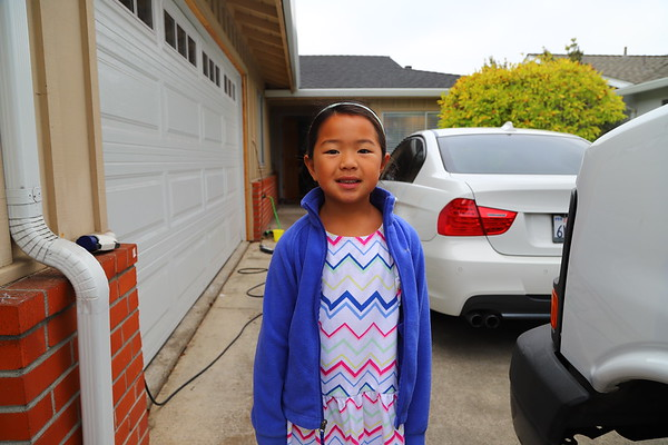Olivia's First Day of First Grade