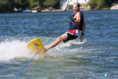 WakeBoarding On Lake Hopatcong