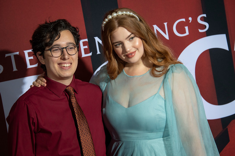 """LOS ANGELES, CALIFORNIA - OCTOBER 29: Bree Kish and guest attend the premiere of Warner Bros Pictures' """"Doctor Sleep"""" at Westwood Regency Theater on Tuesday October 29, 2019 in Los Angeles, California. (Photo by Tom Sorensen/Moovieboy Pictures,)"""