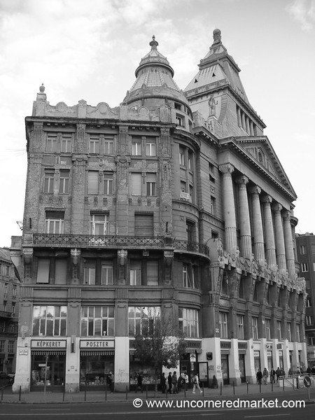 Classic Budapest Architecture - Hungary