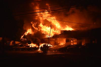3 Alarm Commercial Building Fire - 1801 N. Broad St., Meriden, CT - 6/8/19