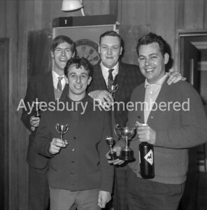 Darts at New Zealand pub, Apr 1966