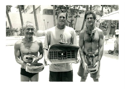 11th Annual Cline Mann 5K Paddleboard Race 8-12-1995