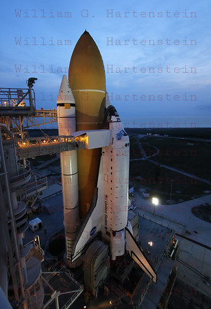 On-Launch-Pad-39A with STS-135 Atlantis before last Shuttle Mission