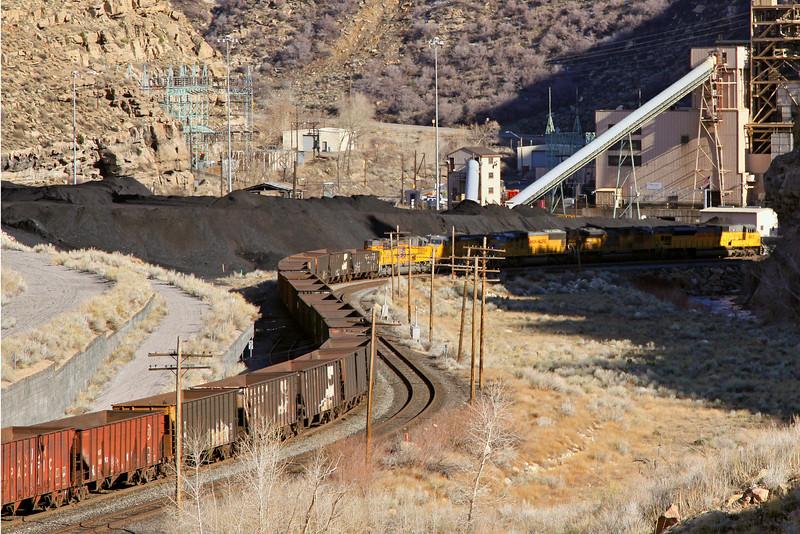 Coal train, Price, Utah