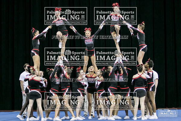 Fox Creek High School Cheer State 2018