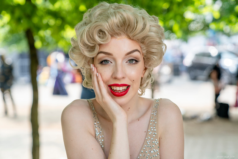 Maisy as Marilyn Monroe - MCM London Comic Con - 26th May 2018