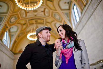Megan and Sean Engagement Session