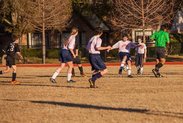 Briarwood Jr. High Soccer - Jan. 14, 2014