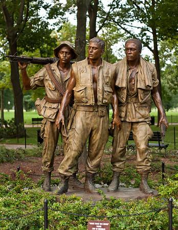 Vietnam Veterans Memorial - Restored