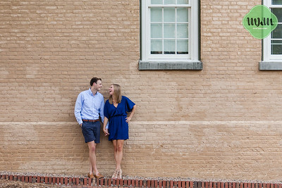 Callie & Matt | A Sweet, Nostalgic Engagement at UNC Chapel Hill