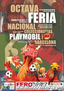 8º Feria Nacional de Coleccionistas de Playmobil