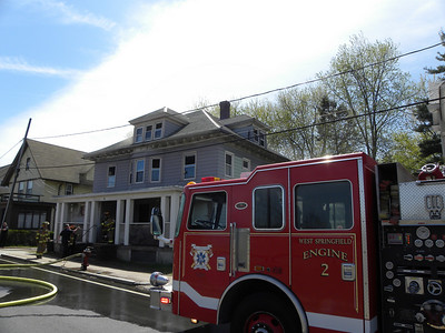 West Springfield, MA Working Fire & 2nd Alarm 32 Riverdale Rd.  4/15 & 4/16/10