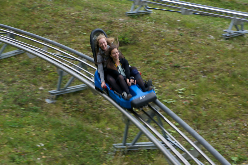 Lucia and Katerina enjoying their ride