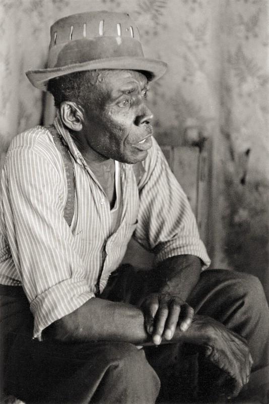 """""""Mississippi"""" Joe Callicott, bluesman, Nesbit, MS"""