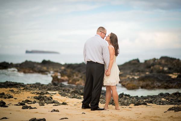 Tracy & Jeremy, Makena Cove, 120314