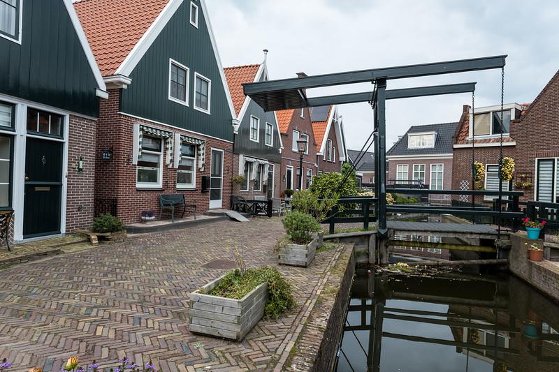 Volendam Houses & Canals