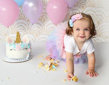 Emilia P's 1st Birthday Session