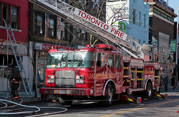 April 15th, 2016 - 2nd Alarm - 521 Bloor St W