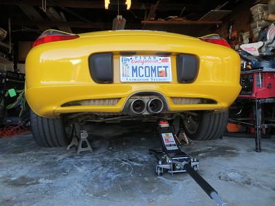 2012-11-22 Car on Jacks