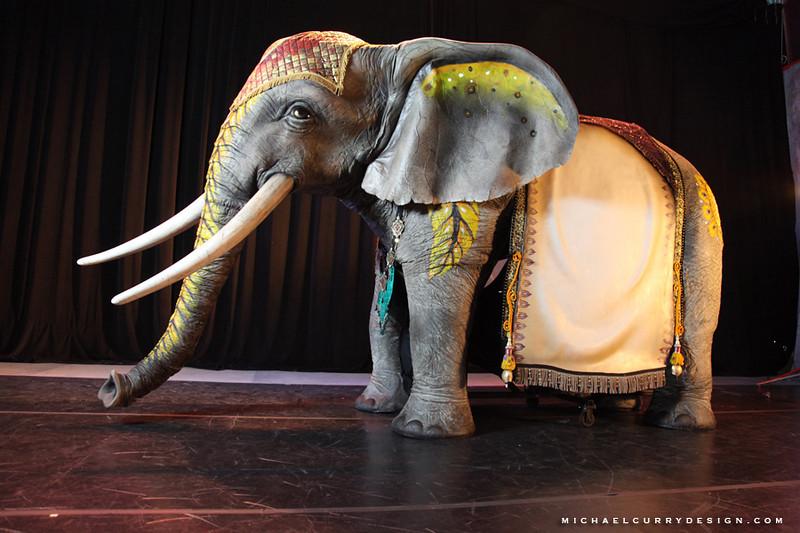 Cirque du Soleil Xbox Kinect  elephant 4.JPG