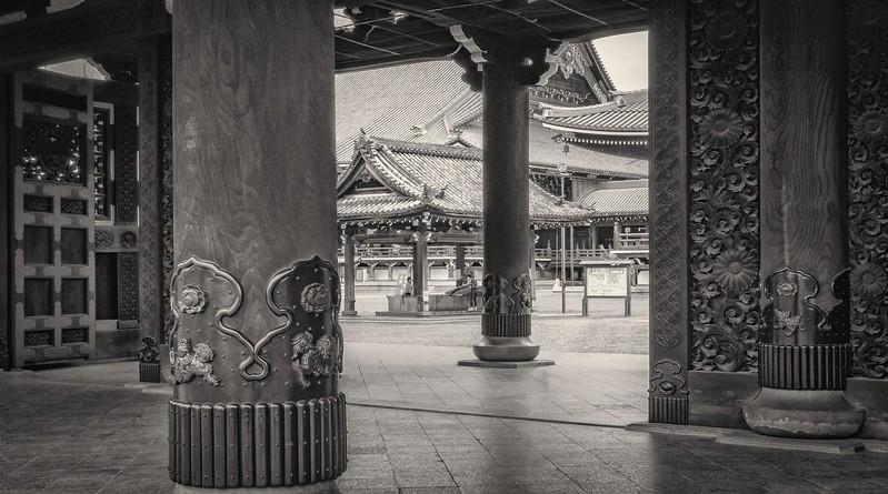 Kyoto. Hongangji.