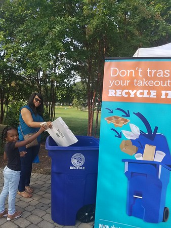 Community Partnership Curbside Recycling Programs 2017