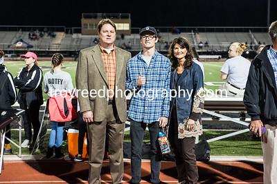 Senior Night Fall at Football Field