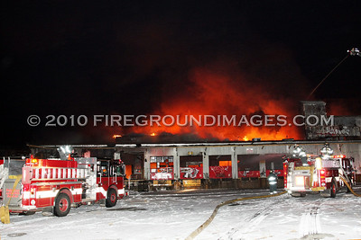Remington Arms Factory Fire (Bridgeport, CT) 2/14/10