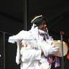 Big Chief ,  Donald Harrison, Jr. and the Mardi Gras Indians at New Orleans Jazz & Heritage Festival 2013