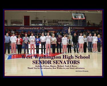 WW Senior Night 2017 (boys basketball)
