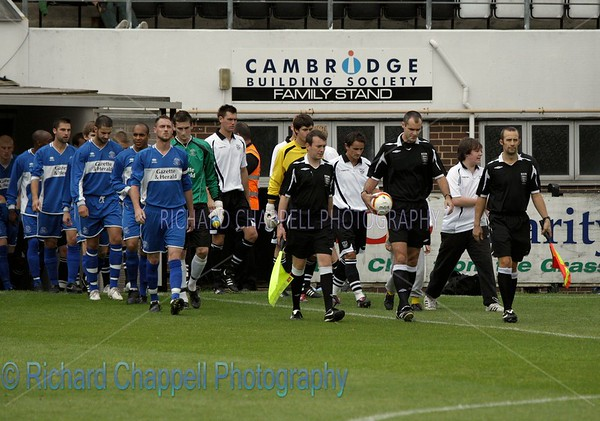 CHIPPENHAM TOWN V CAMBRIDGE CITY