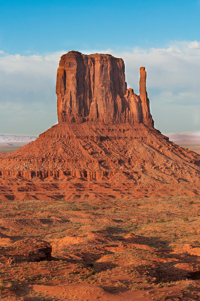 Merrick Butte in Monument Valley, Utah