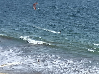 The Kite Surfer of Seacliff