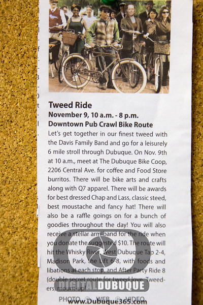 Tweed Ride - Dubuque Bike Coop