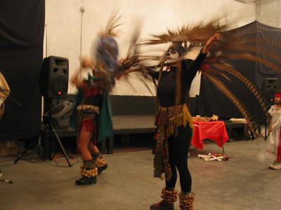 Aztec Dancers, Spiritual Ceremony