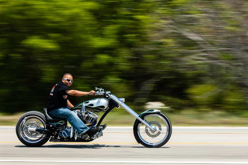 Bikers on US1 on the way to Key West, Florida Keys, Florida, United States of America
